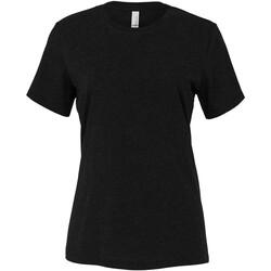 Abbigliamento Donna T-shirt & Polo Bella + Canvas BE6400 Nero