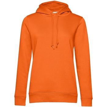 Abbigliamento Donna Felpe B&c WW34B Arancio