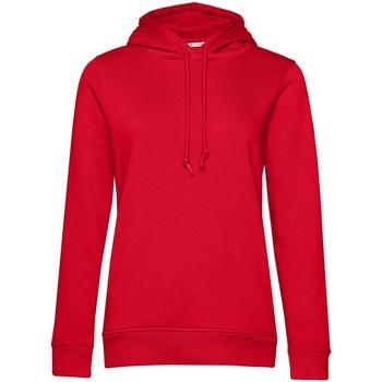 Abbigliamento Donna Felpe B&c WW34B Rosso