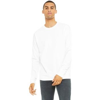 Abbigliamento Felpe Bella + Canvas CA3945 Bianco