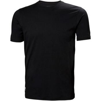 Abbigliamento Uomo T-shirt & Polo Helly Hansen 79161 Nero