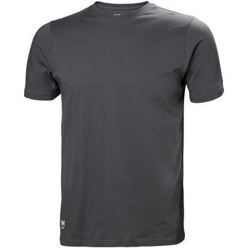 Abbigliamento Uomo T-shirt & Polo Helly Hansen 79161 Grigio scuro