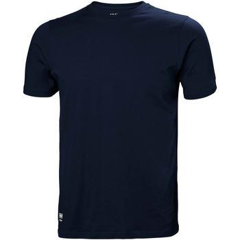 Abbigliamento Uomo T-shirt & Polo Helly Hansen 79161 Blu navy