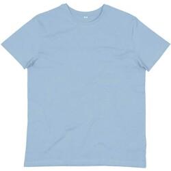 Abbigliamento Uomo T-shirt & Polo Mantis M01 Azzurro cielo