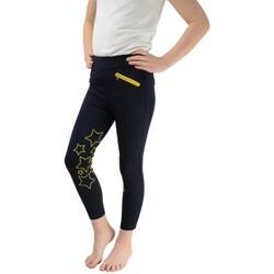 Abbigliamento Bambina Leggings Hyperformance  Blu/Giallo