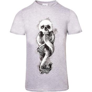 Abbigliamento T-shirt maniche corte Harry Potter  Grigio