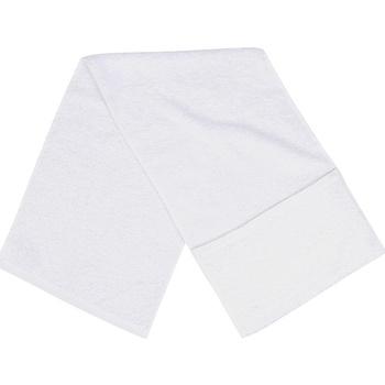 Casa Asciugamano e guanto esfoliante Towel City PC3565 Bianco