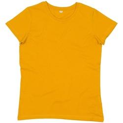 Abbigliamento Donna T-shirt maniche corte Mantis M02 Mostarda