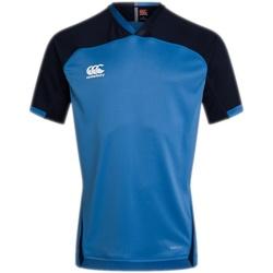 Abbigliamento T-shirt maniche corte Canterbury CN302 Azzurro cielo