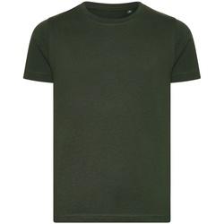 Abbigliamento Unisex bambino T-shirt maniche corte Ecologie EA001B Verde bottiglia