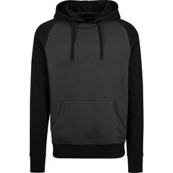 Abbigliamento Uomo Felpe Build Your Brand BY077 Carbone/Nero