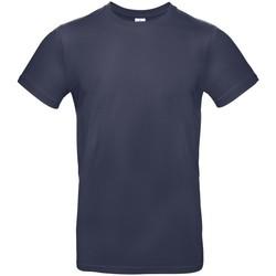 Abbigliamento Uomo T-shirt maniche corte B And C BA220 Blu navy