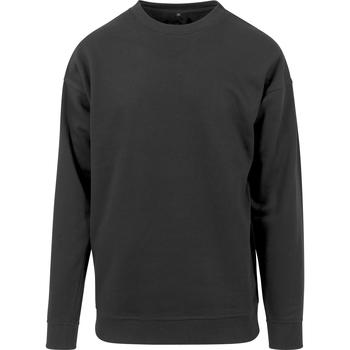 Abbigliamento Uomo Felpe Build Your Brand BY075 Nero