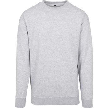 Abbigliamento Uomo Felpe Build Your Brand BY075 Grigio