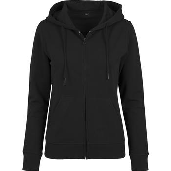 Abbigliamento Donna Felpe Build Your Brand BY069 Nero