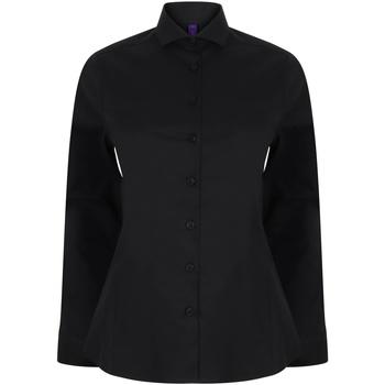 Abbigliamento Donna Camicie Henbury HB533 Nero