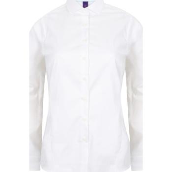Abbigliamento Donna Camicie Henbury HB533 Bianco
