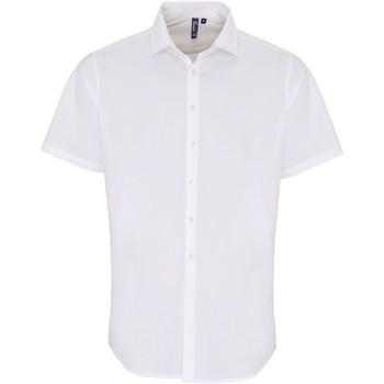 Abbigliamento Uomo Camicie maniche corte Premier PR246 Bianco
