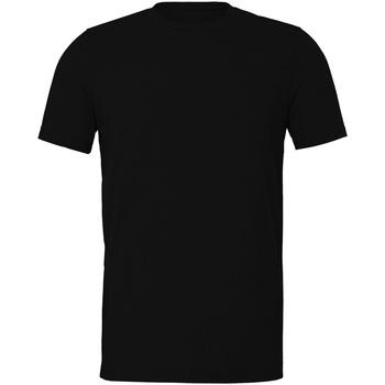 Abbigliamento T-shirt maniche corte Bella + Canvas CV011 Nero