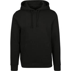 Abbigliamento Uomo Felpe Build Your Brand BY084 Nero