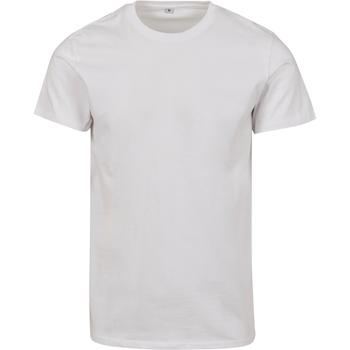 Abbigliamento T-shirt maniche corte Build Your Brand BY083 Bianco