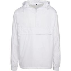 Abbigliamento Giacche Build Your Brand BY096 Bianco