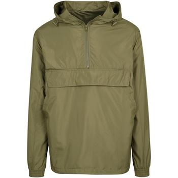 Abbigliamento Giacche Build Your Brand BY096 Verde