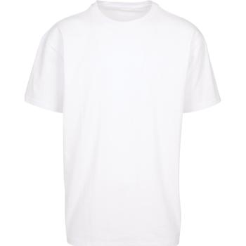 Abbigliamento T-shirt maniche corte Build Your Brand BY102 Bianco