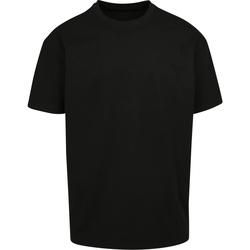 Abbigliamento T-shirt maniche corte Build Your Brand BY102 Nero