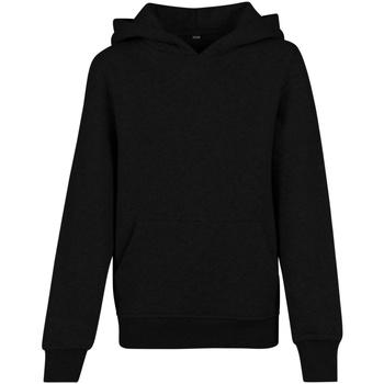 Abbigliamento Uomo Felpe Build Your Brand BY117 Nero