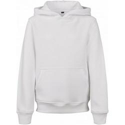 Abbigliamento Uomo Felpe Build Your Brand BY117 Bianco
