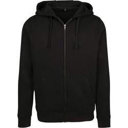 Abbigliamento Uomo Felpe Build Your Brand BY085 Nero