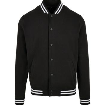 Abbigliamento Uomo Giacche Build Your Brand BB004 Nero/Bianco