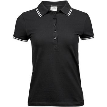 Abbigliamento Donna Polo maniche corte Tee Jays TJ1408 Nero/Bianco