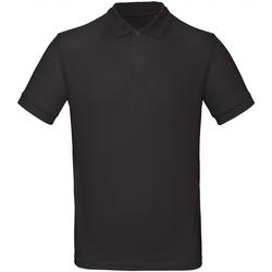 Abbigliamento Uomo Polo maniche corte B And C PM430 Nero