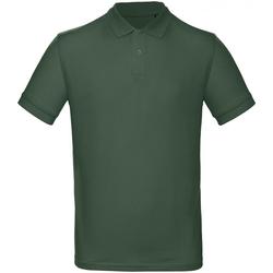 Abbigliamento Uomo Polo maniche corte B And C PM430 Verde gara
