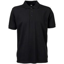 Abbigliamento Uomo Polo maniche corte Tee Jays TJ7200 Nero