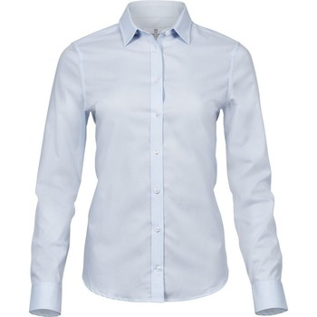 Abbigliamento Donna Camicie Tee Jays TJ4025 Azzurro