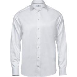 Abbigliamento Uomo Camicie maniche lunghe Tee Jays TJ4020 Bianco