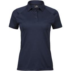Abbigliamento Donna Polo maniche corte Tee Jays TJ7201 Blu navy