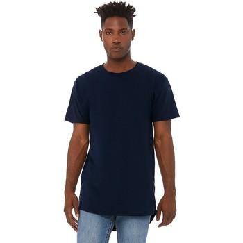 Abbigliamento Uomo T-shirt maniche corte Bella + Canvas CA3006 Blu navy