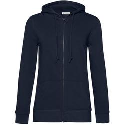 Abbigliamento Donna Felpe B&c WW36B Blu navy