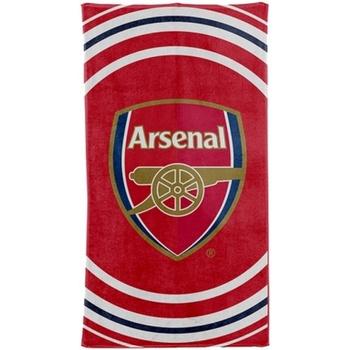 Casa Asciugamano e guanto esfoliante Arsenal Fc Taille unique Rosso/Bianco/Blu