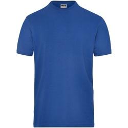 Abbigliamento Uomo T-shirt maniche corte James And Nicholson  Blu reale