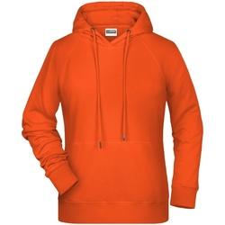 Abbigliamento Donna Felpe James And Nicholson  Arancio
