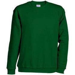 Abbigliamento Felpe James And Nicholson  Verde
