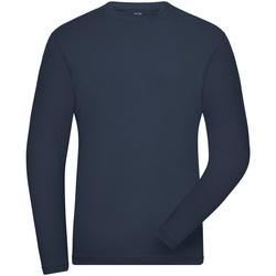 Abbigliamento Uomo Felpe James And Nicholson  Blu navy