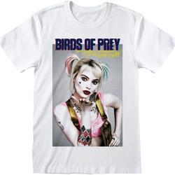 Abbigliamento T-shirt maniche corte Birds Of Prey  Bianco