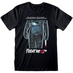 Abbigliamento T-shirt maniche corte Friday The 13Th  Nero