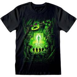 Abbigliamento T-shirt maniche corte Ghostbusters  Nero